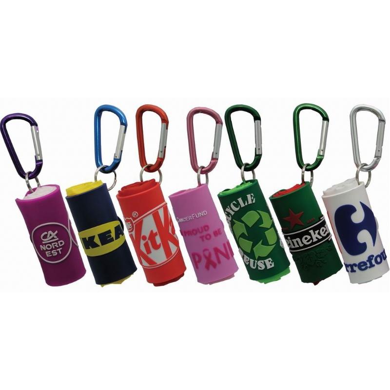 sleutelhanger en shopping bag