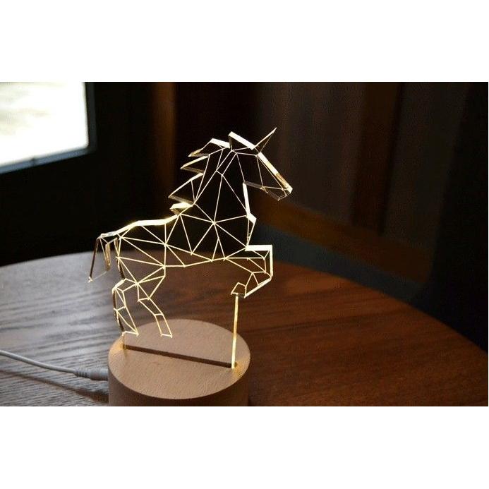 3D Led lamp