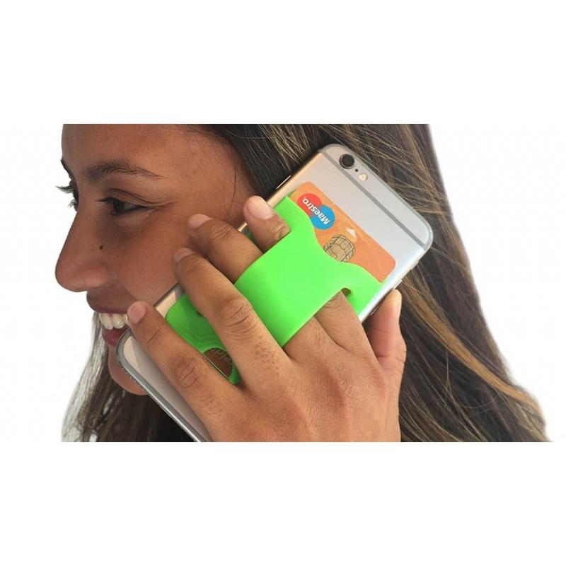 Telefoon- en kaartenhouder in 1