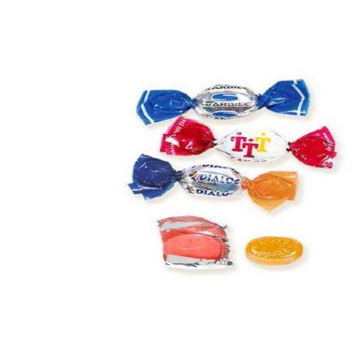 Individueel verpakte snoepjes