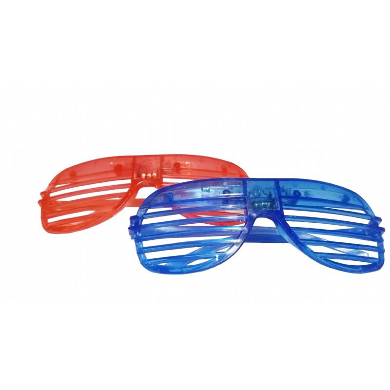 Grappige led bril