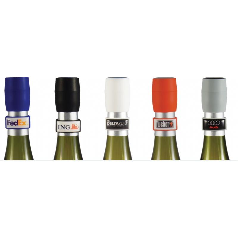 Set wijnstop en druppelring