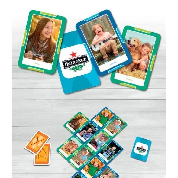 Kaartspelletjes met eigen foto's