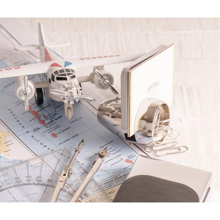 Vliegtuigturbine voor op je bureau