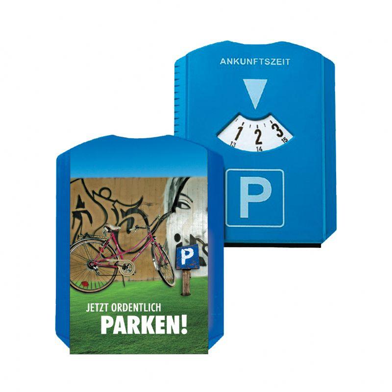 Parkeerschijf met full colour bedrukking