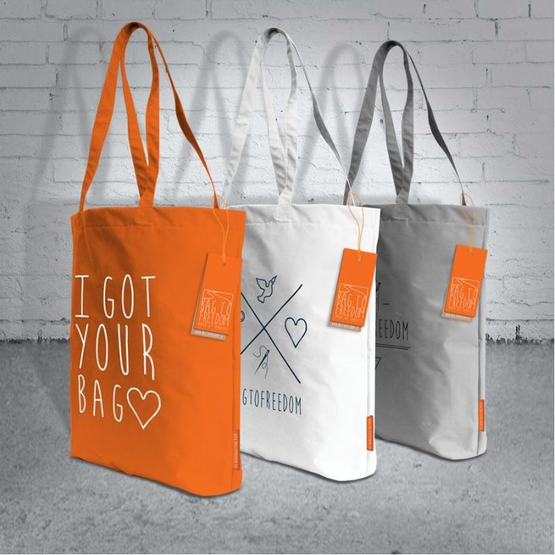 Tas gemaakt door vrouwelijke gevangenen