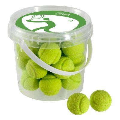 Emmertje kauwgom tennisballen