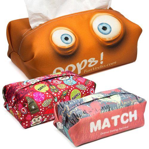 Leuke hoes voor doos zakdoekjes
