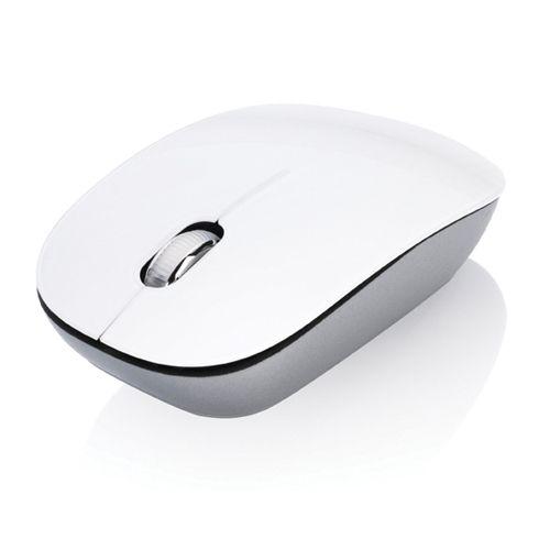 Glanzend witte muis