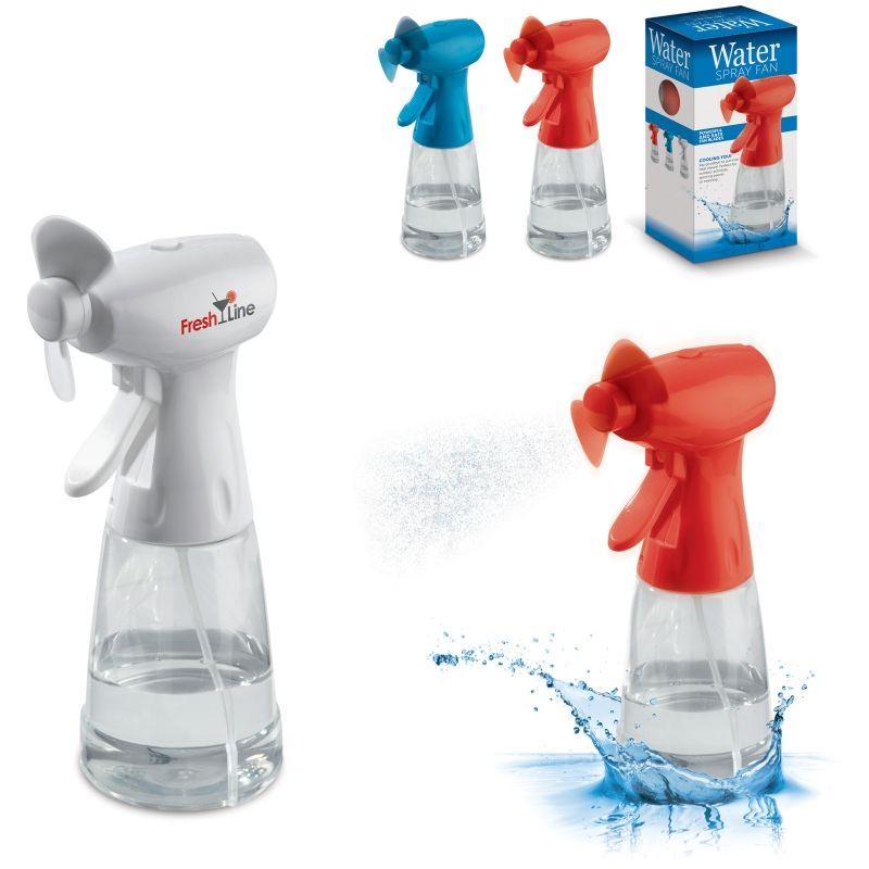 Ventilator met waterverstuiver