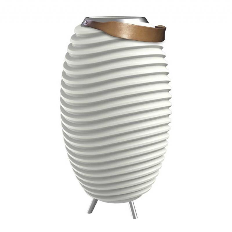Luxe ten top: design lamp, speaker en koeler in één!