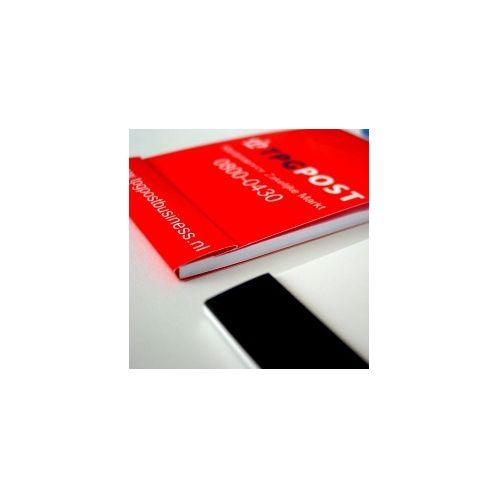 Ad-cover notitieblokje in zakformaat