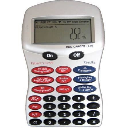 Cholesterol calculator