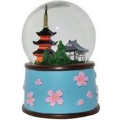 Sneeuwbol met Japans geluid