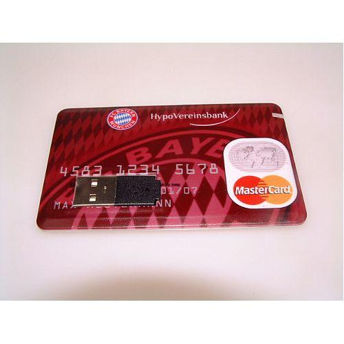 Kredietkaart USB stick