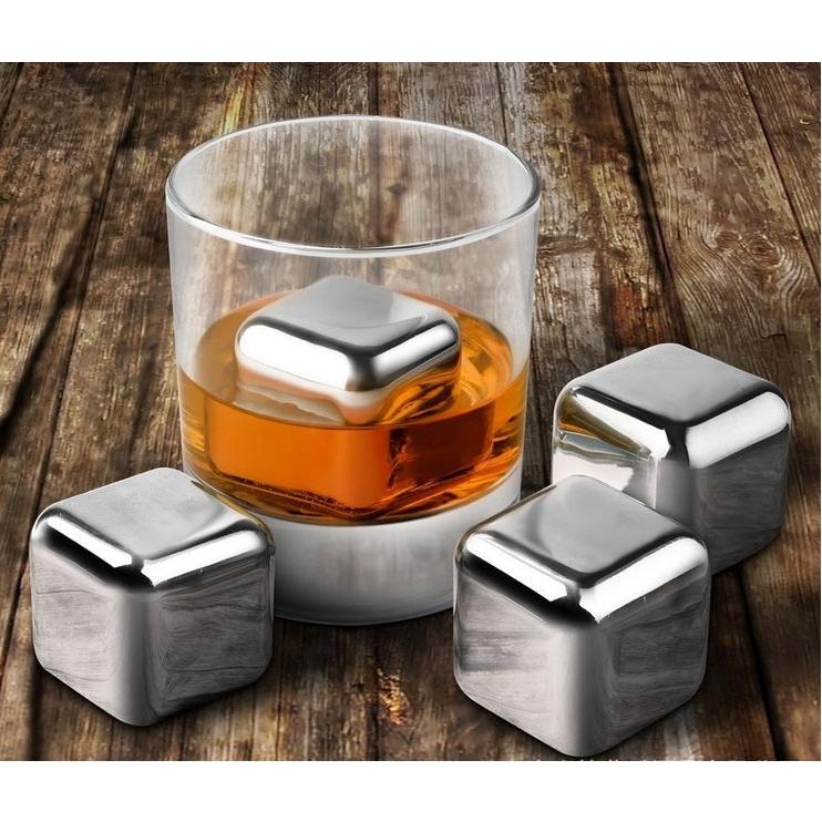 Herbruikbare Inox ijsblokjes