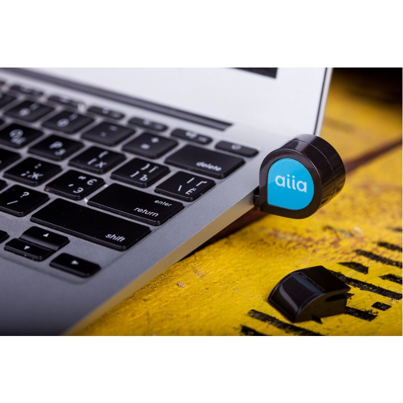 USB-stick waar muziek in zit.