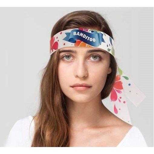 Bedrukte hoofdband