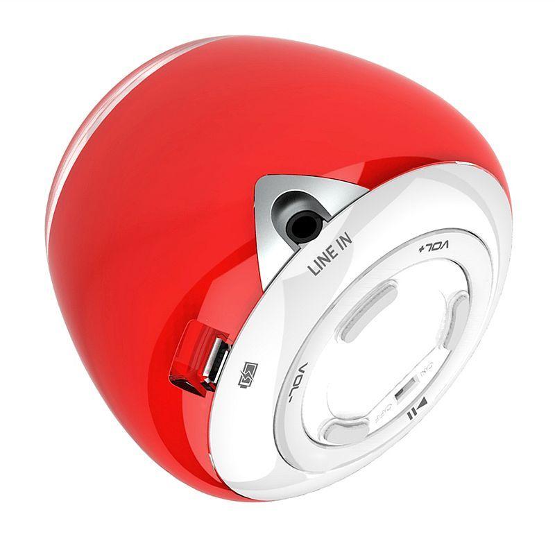 Bluetooth speaker met acrylglas