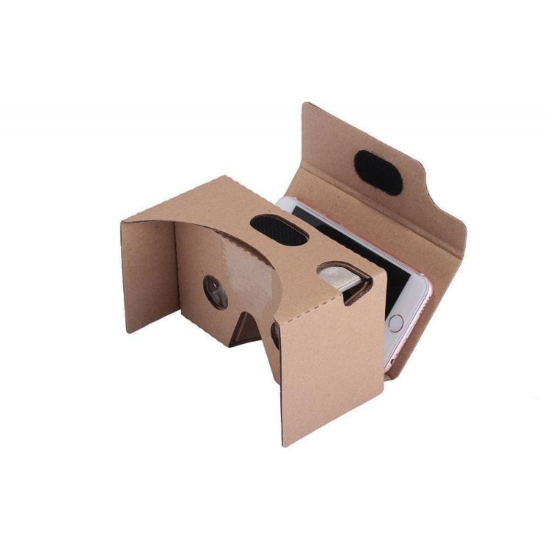 Virtual reality kartonnen bril