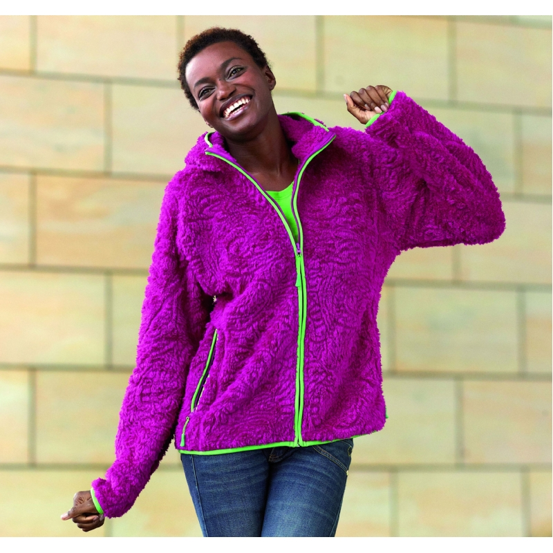 Dames fashion fleece