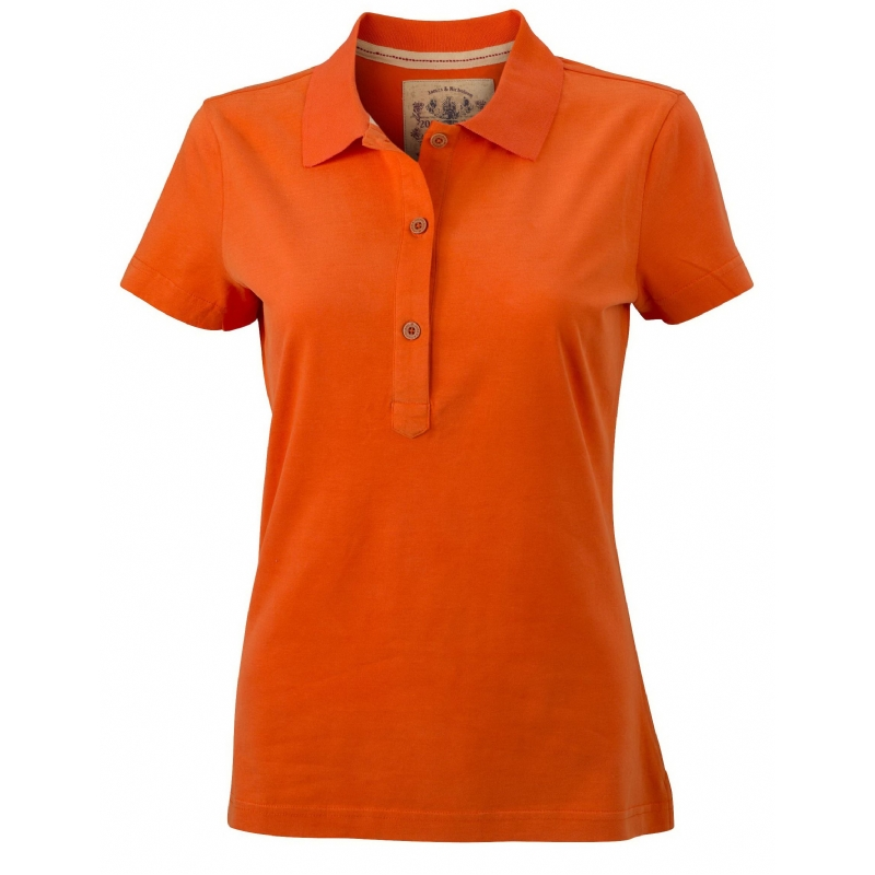Ladies' Vintage Poloshirt