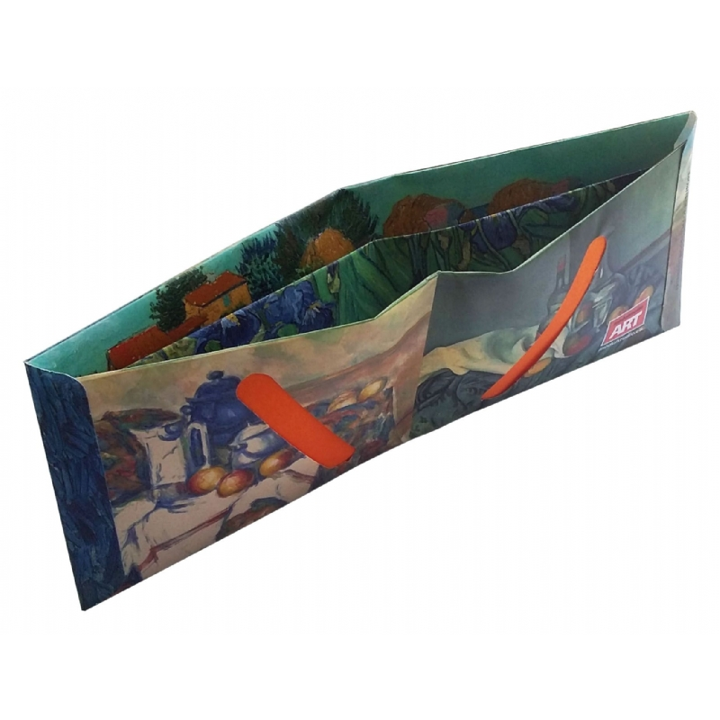 Papieren portefeuille full colour te bedrukken