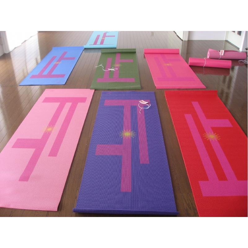 Bedrukte Yogamat