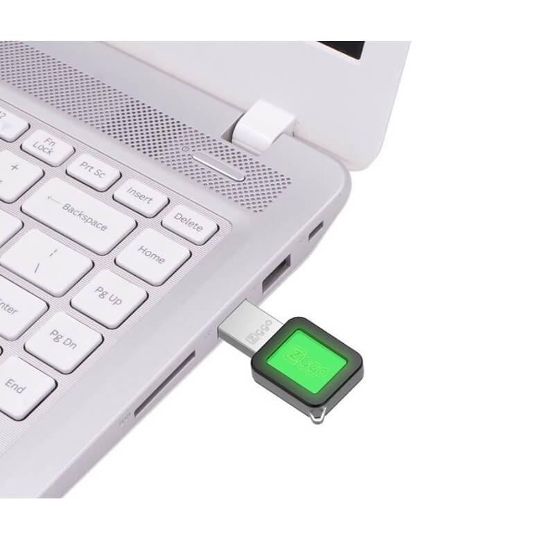 Acryl-lichtmetalen USB-stick
