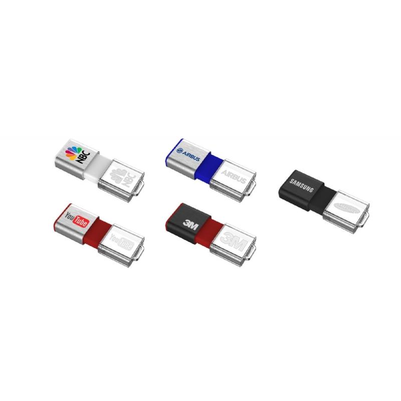USB met 3D-verlicht logo