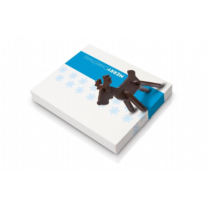 3D Chocolade Rendier puzzel