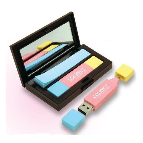 USB stick in doosje met spiegel