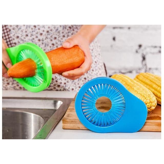 borstel om groenten te reinigen