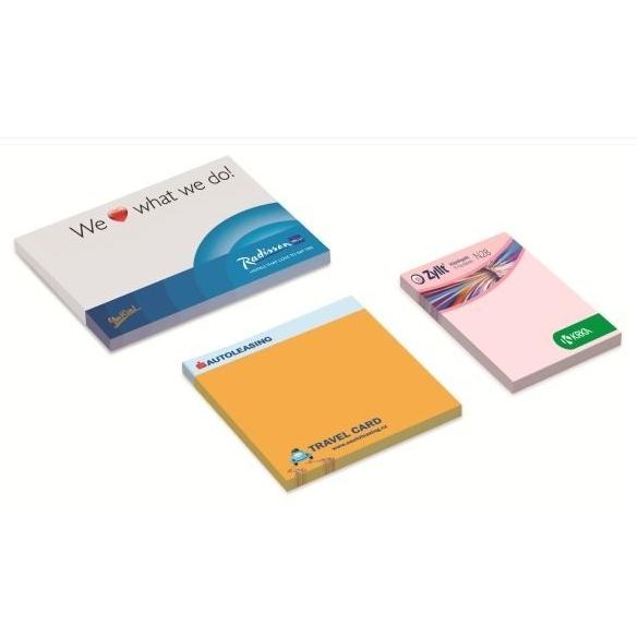 Boekje met zelfklevende sticky notes