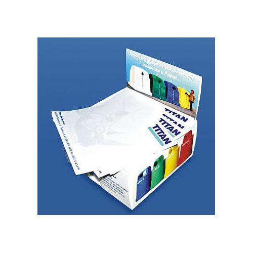 Papierblok in kartonnenhouder