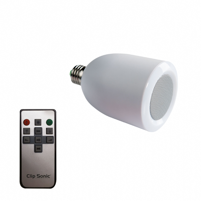 Bluetooth speaker met LED lamp
