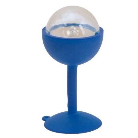 Lampje met zuignap