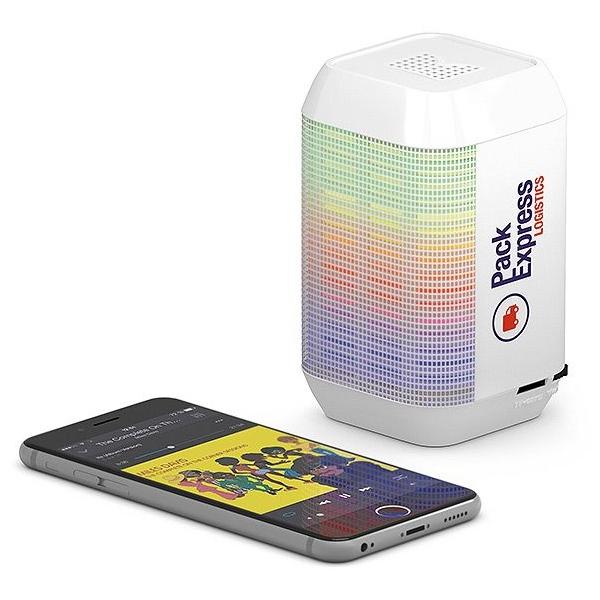 Lumy bluetooth speaker met LED's
