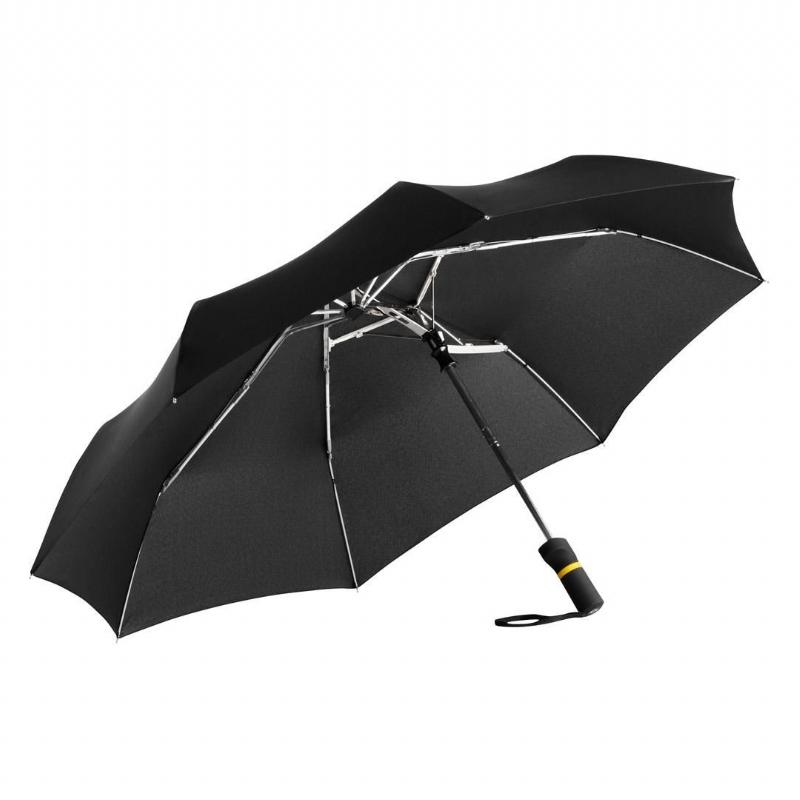 Assymetrische paraplu voor droge bagage