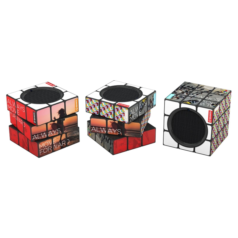 Bluetooth Speaker in de vorm van een Rubik's kubus