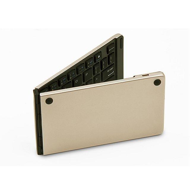 Aluminium draagbaar en plooibaar Bluetooth toetsenbord