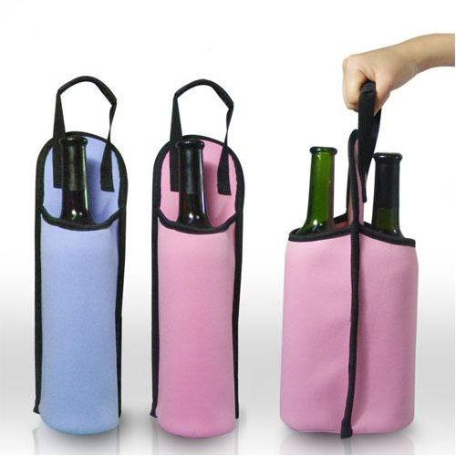 Draagtas voor één of twee flessen