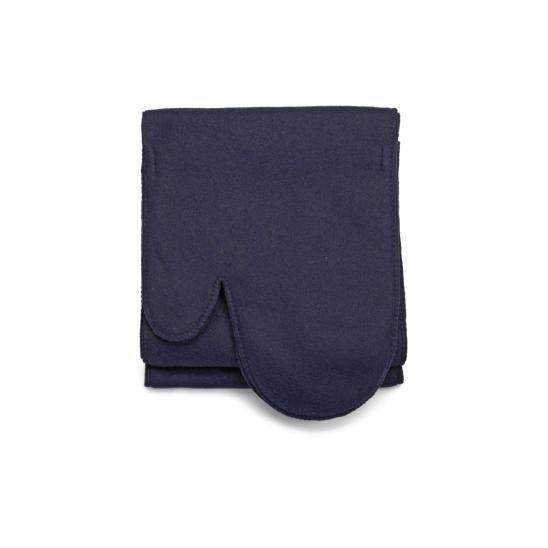 sjaal met handschoenen