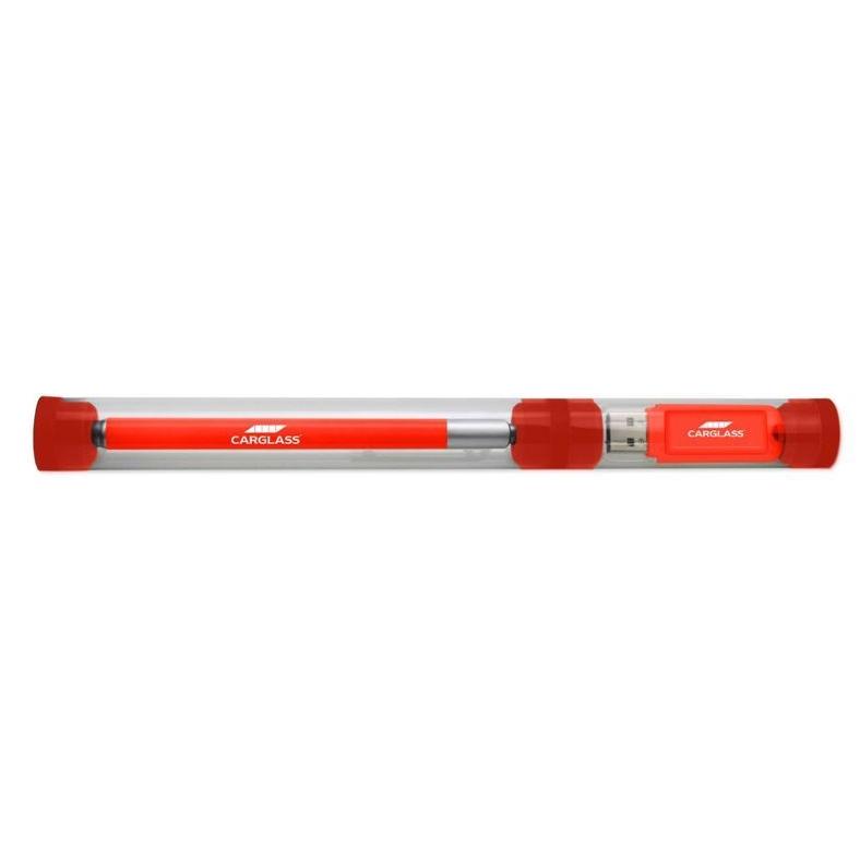 Geschenkverpakking tube voor pen en/of geheugenstick