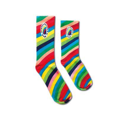 Katoenen sokken all over bedrukt