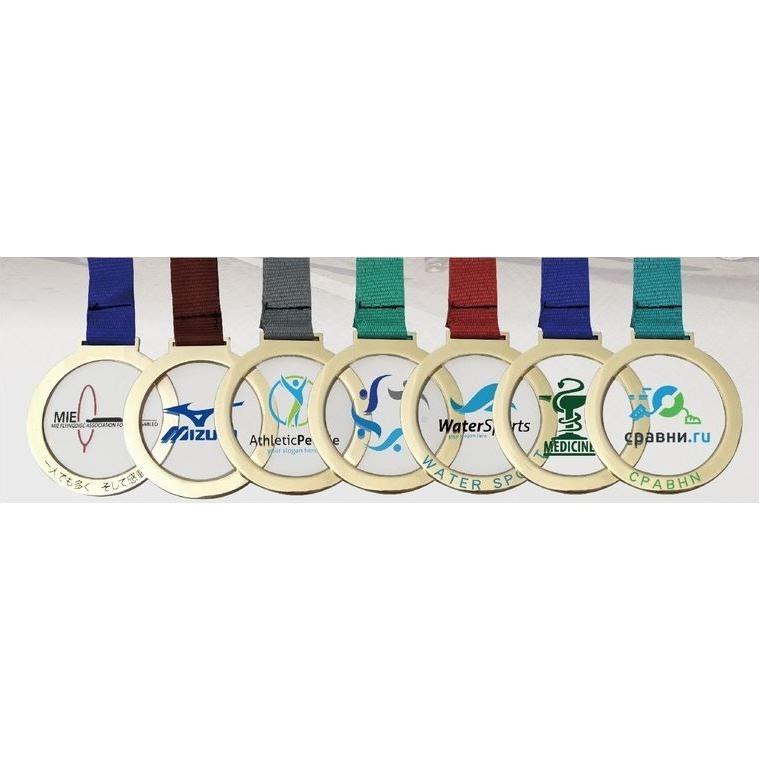 Doorschijnende medaille