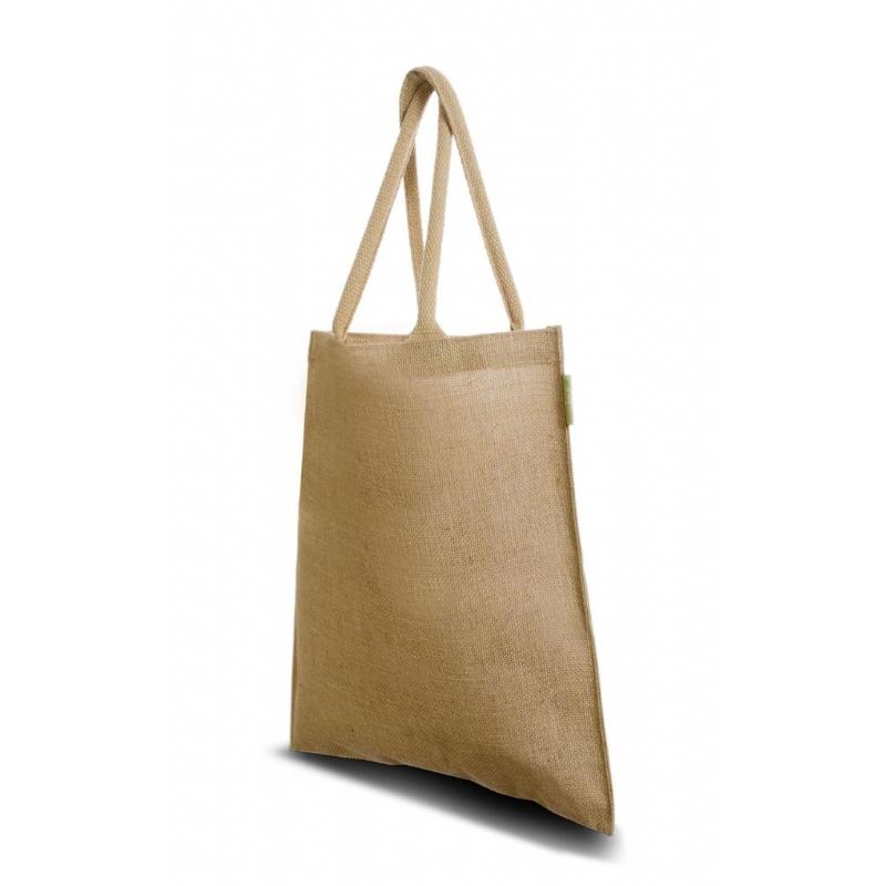 Duurzame luxe jute tas, ideaal voor beurzen model Fairbag de Luxe