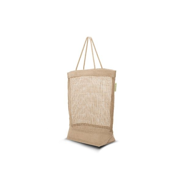 Jute opvouwbare tas Smart Natural