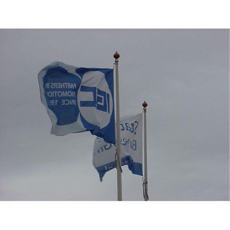 Vlaggen 150 x 225 cm.