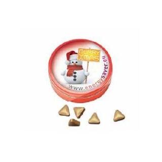 Blikje met gouden muntjes